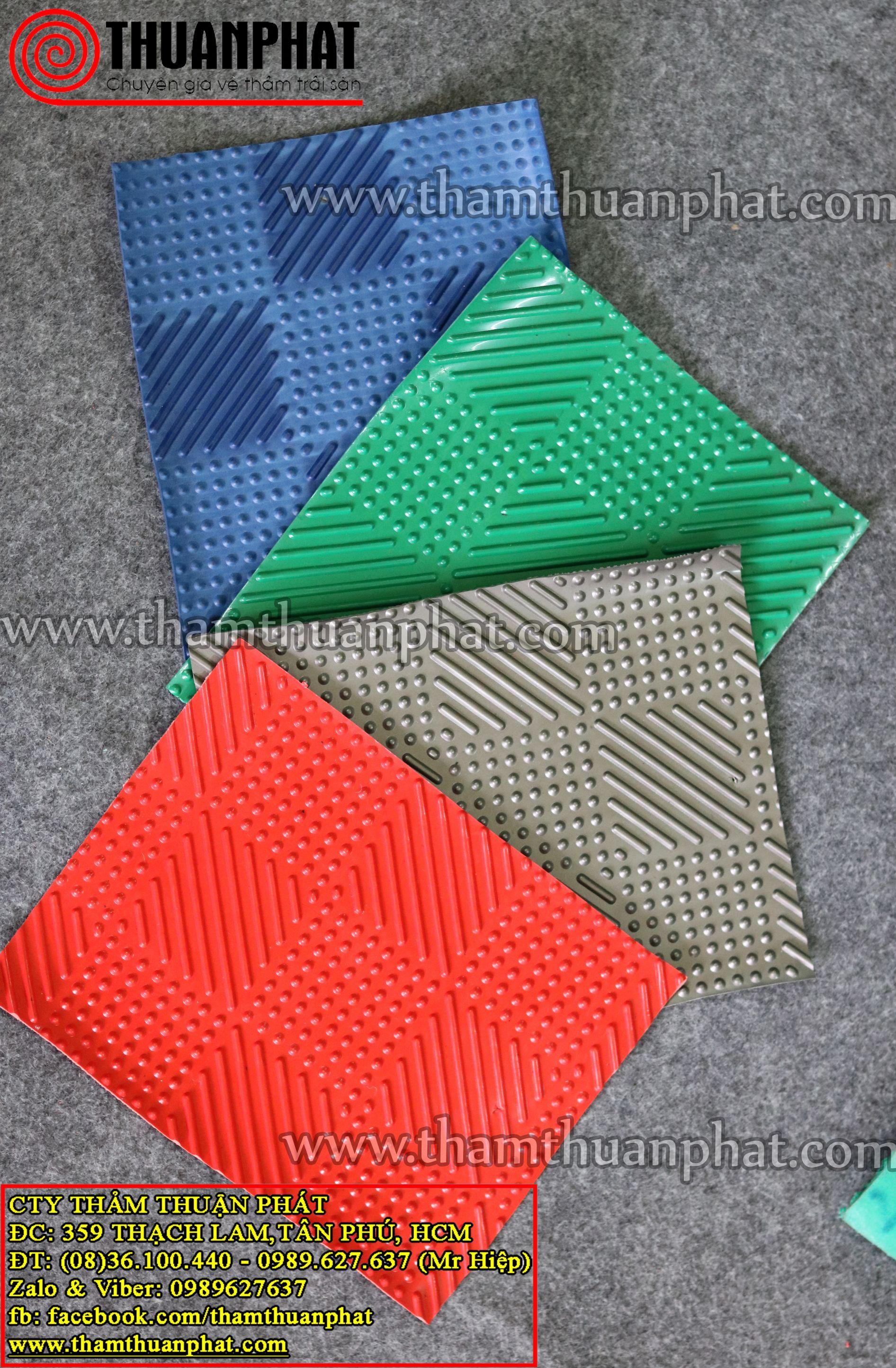 Thảm nhựa caro (đinh sọc)