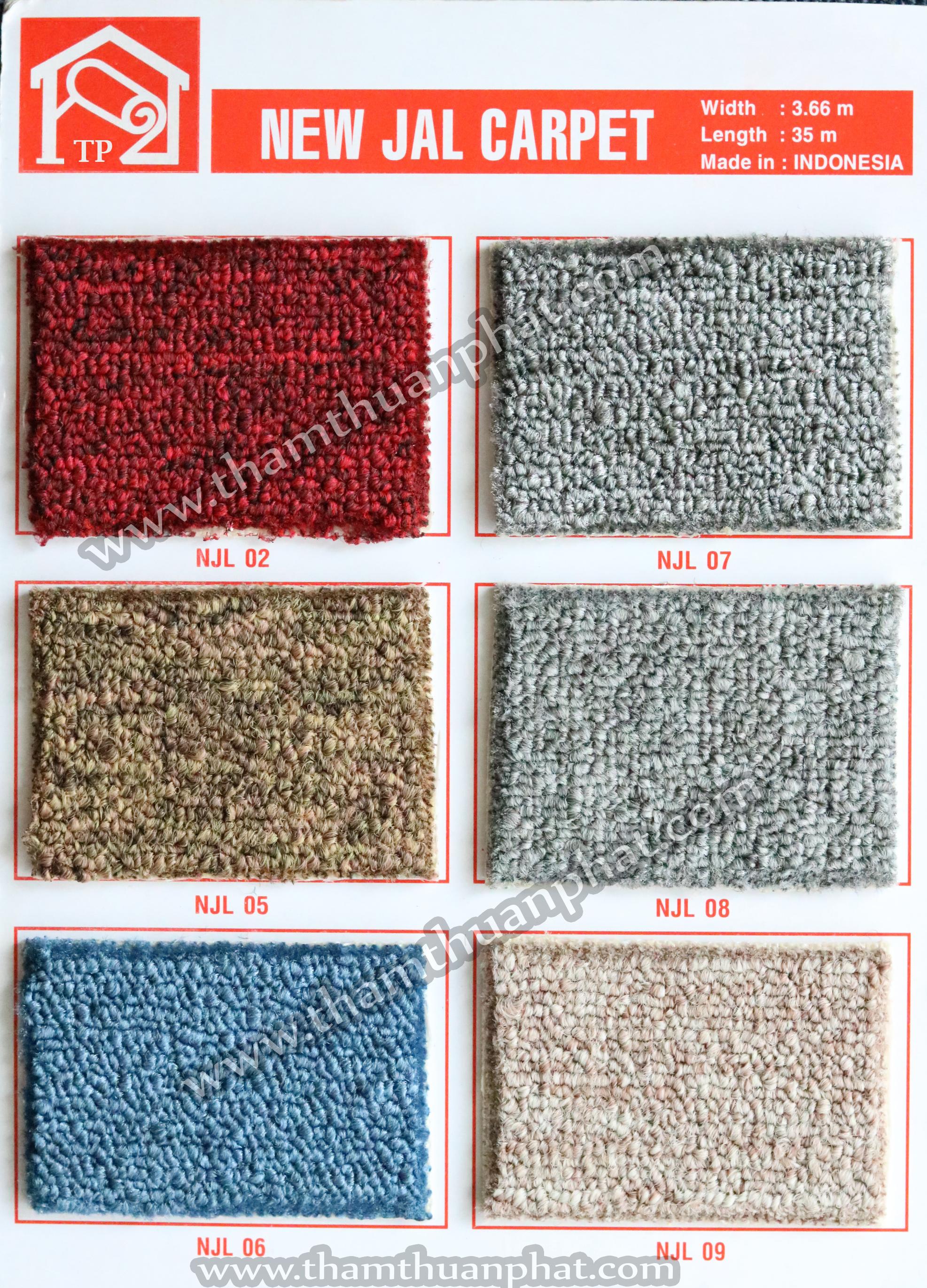 Thảm trải sàn Newjal carpet