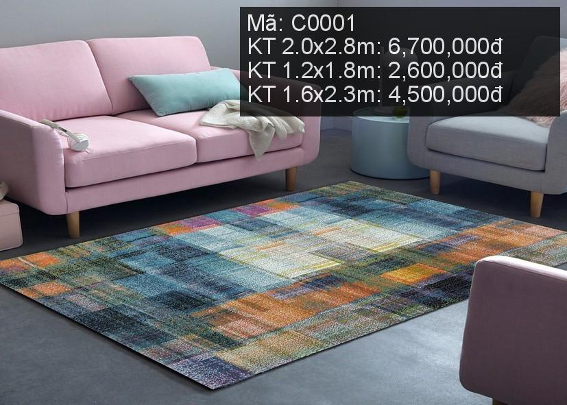 Thảm trải phòng khách C0001